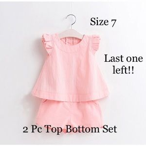 Other - Girls 2 Piece Spring Boutique Outfit Set